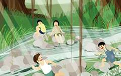 暑假里a href=http://www.baidu.com/a/nanwangde/ target=_blank class=infotextkey难忘的/a一天
