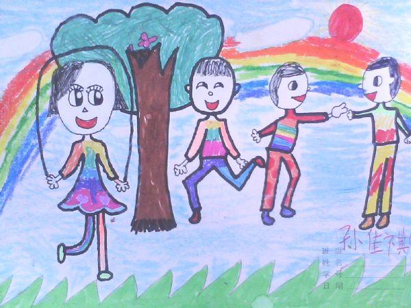 一年级绘画_小学一年级绘画