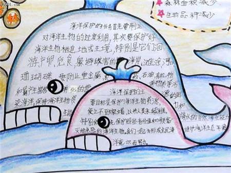 保护环境手抄报2年级-我国现行的中华人民共和国环境保护法是哪一年