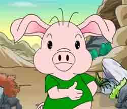 mp4儿童故事视频大全_三只小猪动画片_三只小猪的故事