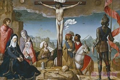 电脑精雕图耶稣十字架