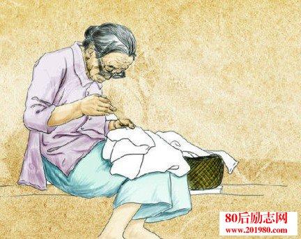 感恩母爱的故事