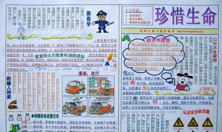 交通安全手抄报的资料 文明交通手抄报资料 东城教研