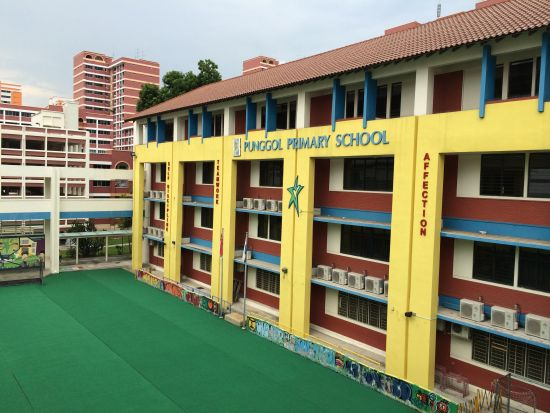 榜鹅小学教学楼