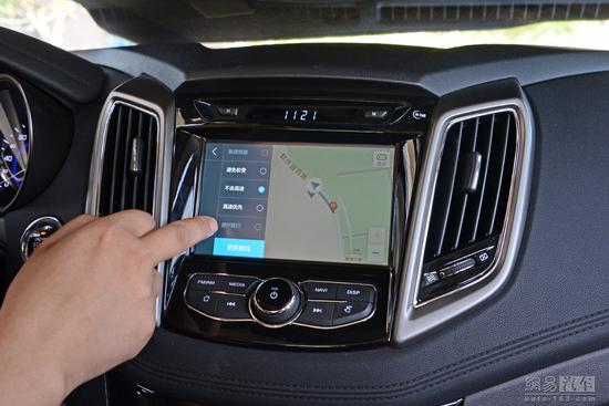 大屏导航立足实用 体验长安逸动多媒体系统