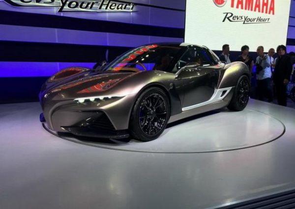雅马哈发布第三款概念车或为双座跑车