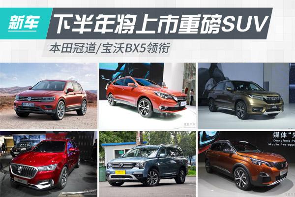 本田冠道/��沃BX5�I�下半年�⑸鲜�SUV�R�
