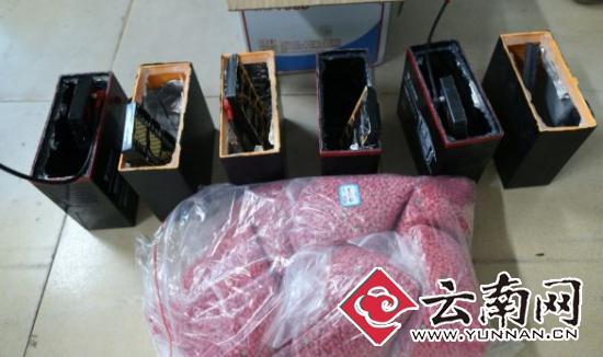 电动车电池藏毒托运至武汉昆明西山警方千里奔袭查获6.7公斤冰毒