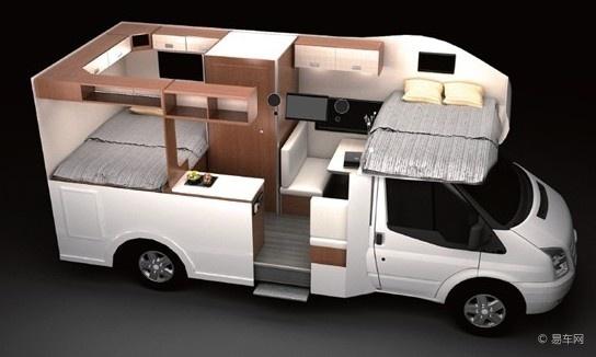 售价40.8万元起福特全顺打造亲民房车