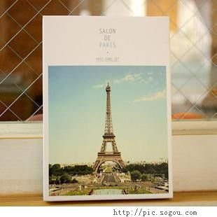 彩色铅笔绘出你我的巴黎铁塔 ,艾菲尔铁塔下,我们的微笑 ,喜欢巴黎