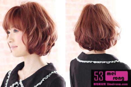 沙宣黑色短发发型 男士沙宣短发直发型 沙宣短发小卷发型
