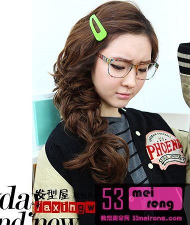 简单韩式发型扎法图解