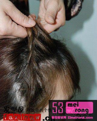 教你扎头发步骤图片简单漂亮的扎头发步骤扎头