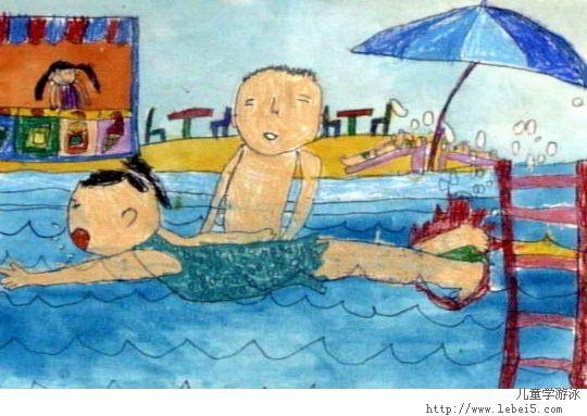 兒童學游泳的好處和注意事項