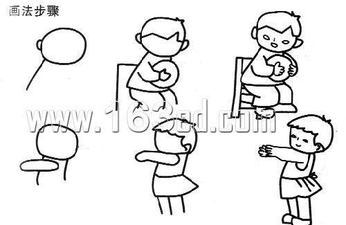 简笔画人物画法