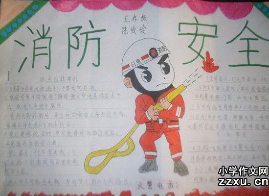 消防安全手抄报资料内容