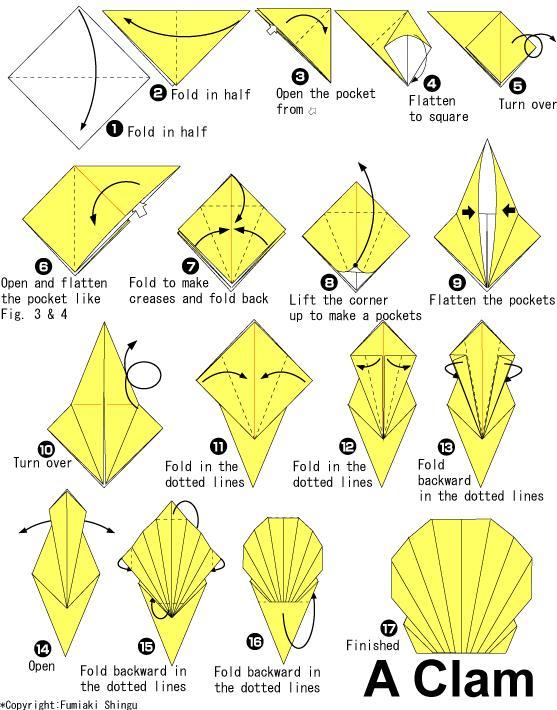 折纸大全图解图片及视频教学