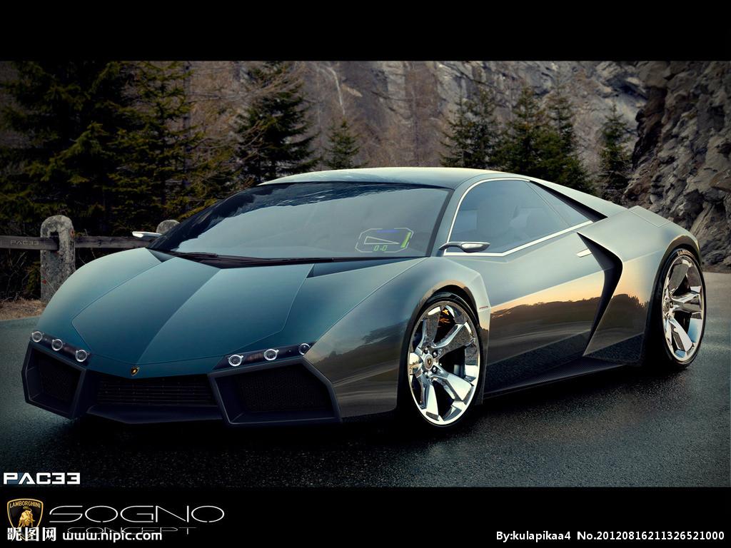 兰博基尼概念车的照片