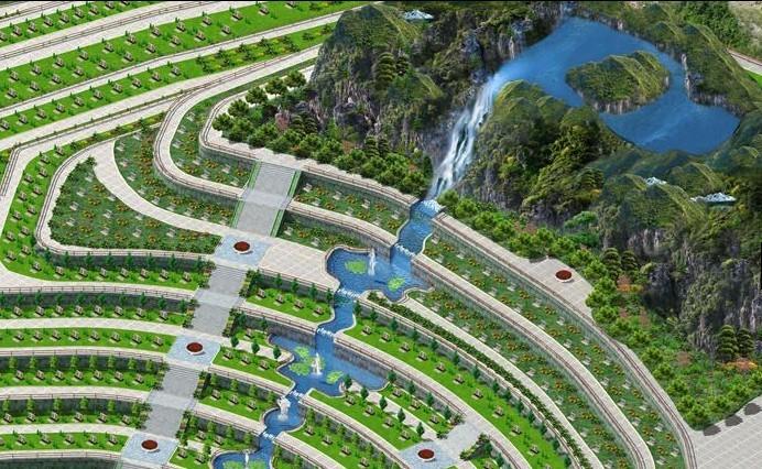 陵园设计效果图片