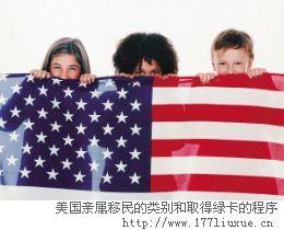 美国亲属移民的类别和取得绿卡的程序