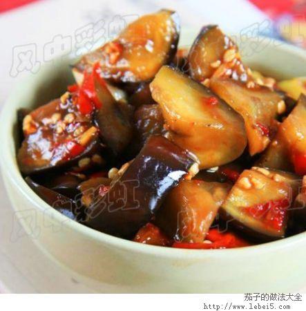 家常食谱:茄子的做法大全